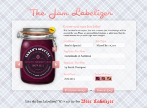 Jam labelizer